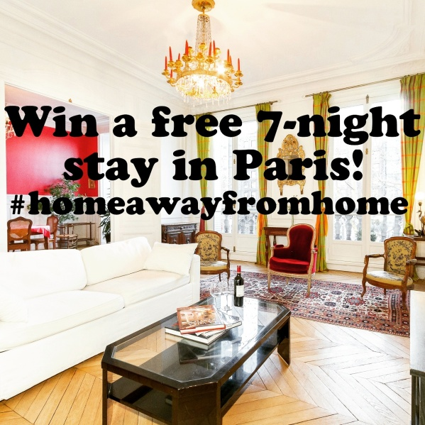 Win a free 7-night stay in Paris!!