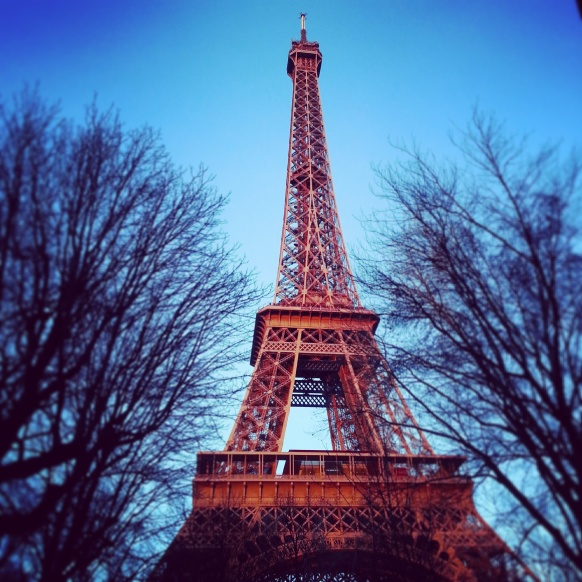 Enjoy a gorgeous view of the Eiffel Tower from your apartment!